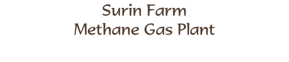 Surin Farm Methane Gas Plant